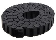 Tank chain 10*20 15*30 10*10 7*15mm Bridge Type Non-Opening Plastic Towline