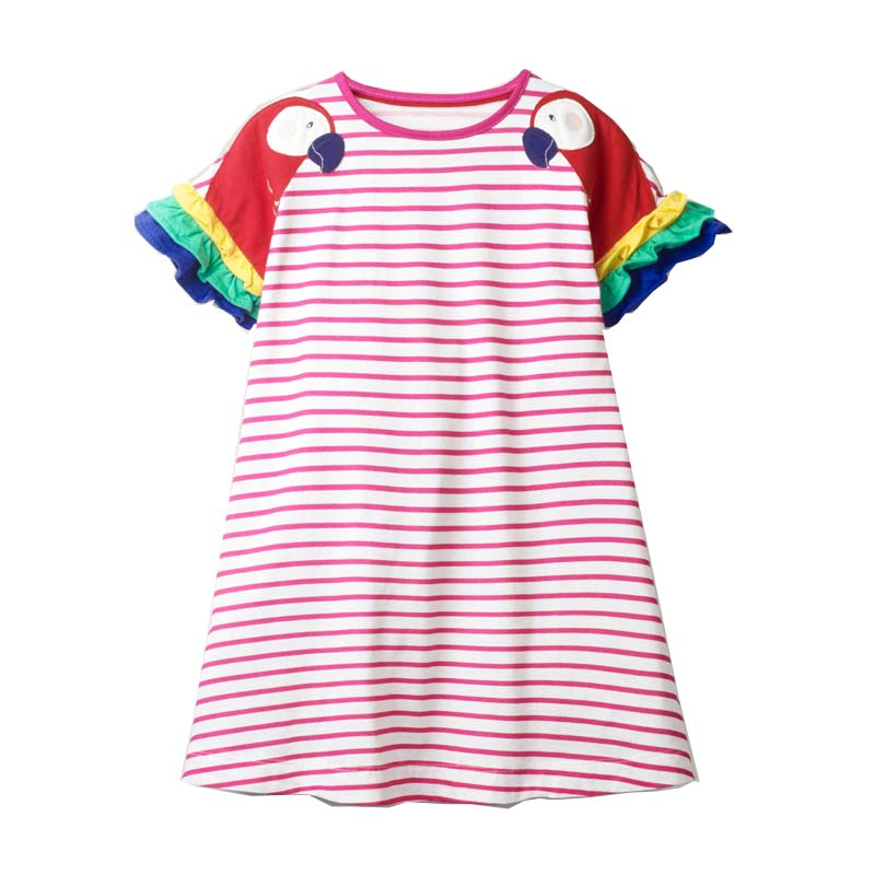 2021 Summer Girls Dress Brand Casual Kids Clothes Party Princess Dresses for Children Costume Embroidery Mermaid 5