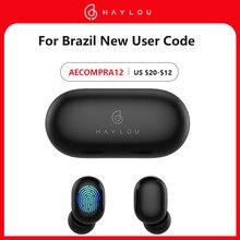 Haylou Fashion Touch Control Wireless Bluetooth 5.0 GT1 Earphones IPX5 Waterproof  HD Code  TWS Earbuds