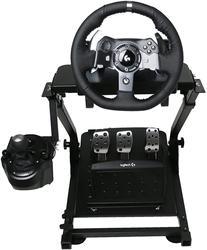 Support de manette de vitesse de support de volant de course G920 adapté aux pédales de roue de support de roue de jeu G27 G25 G29