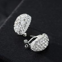 Klassische Design Romantische Schmuck 2020 Mode AAA Zirkonia Stein Stud Ohrringe Für Frauen Elegante Hochzeit Schmuck Geschenk