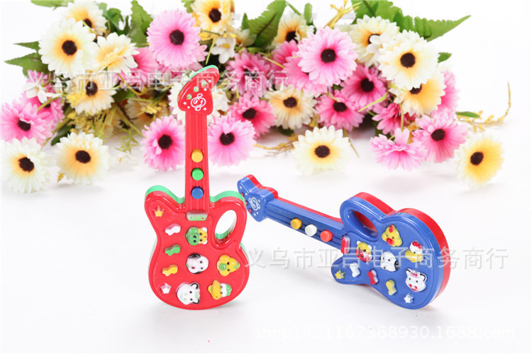 Electronic Music Guitar 12 Nursery Rhyme Strange New Children Play Practical Music Guitar