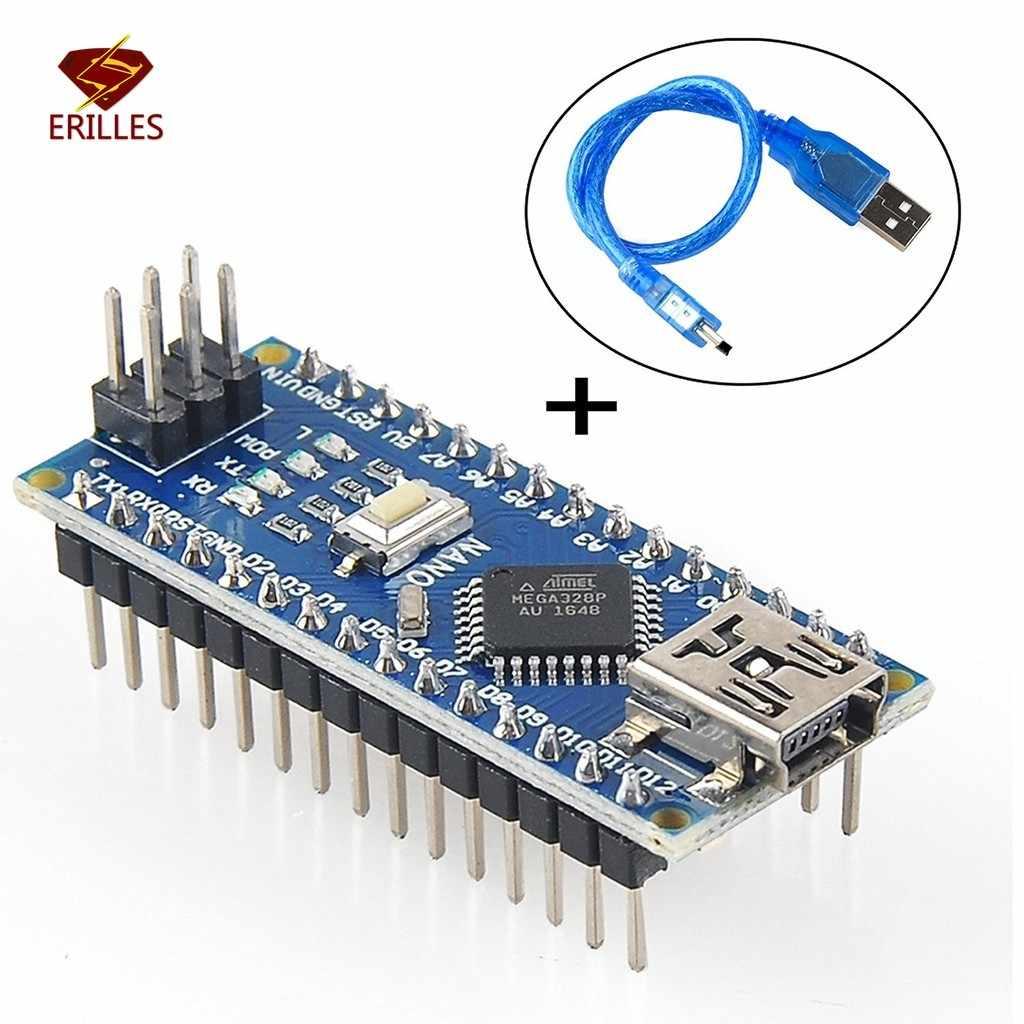 Mini Nano V3.0 R3 Board ATMEGE328P Microcontroller Board W/Usb-kabel Voor Arduino ATMEGA328P-AU