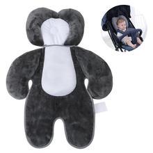Младенцы многофункциональные коляски Подушка под шею автомобиль безопасности сиденье диванная подушка 3 цвета 45x64 см