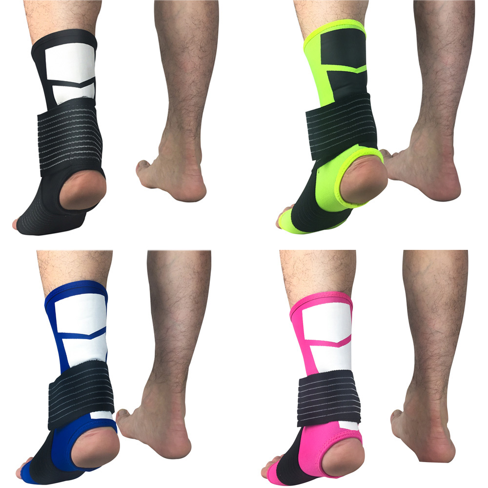 Sports Protective Gear Ankle Sleeve Elastic Bandage Pressure Supports Fitness