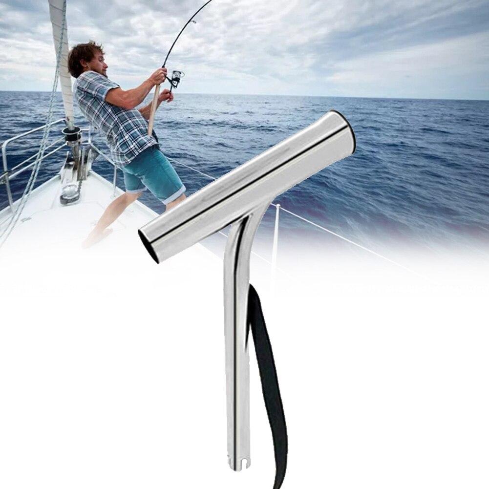 Stainless Steel Fishing Rod Holder Outrigger Holder For Marine Boat Yacht Kayak