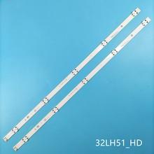 Tira Retroiluminação LED lâmpada para LG Innotek 5 32LH510U HD_LF51 32 polegada CSP 32lh519u 32LH513U 32LH515B 32LH516A 32LH517A 32LH518A
