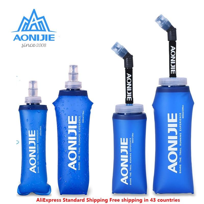 Vest Hydration-Pack Water-Bottle Soft Flask Running-Kettle AONIJIE Traveling Foldable