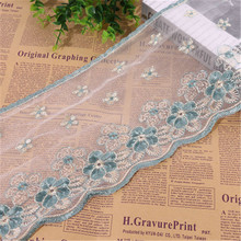 Lace embroidery lace lotus leaf water soluble edge clothing home textile curtain bedding DIY accessories