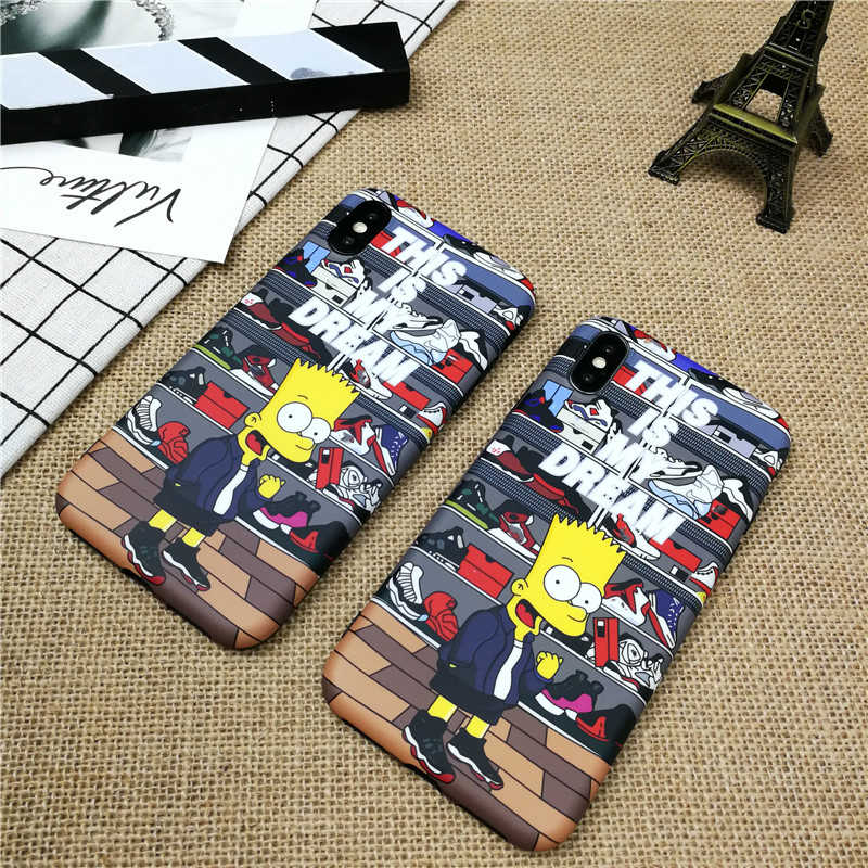 Cartoon Boy Soft Case For Iphone 11 Pro X Xs Max Xr 8 7 6 6s Plus Matte Silicone Phone Cover For Samsung Galaxy S10 S9 S8 Plus