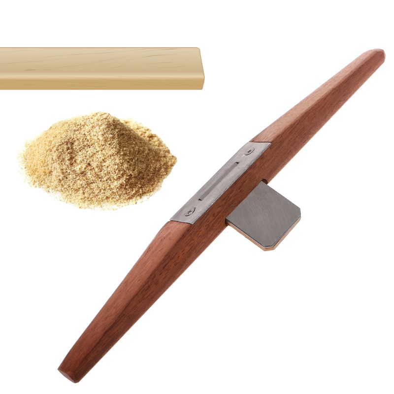 Wooden Rosewood Bird Flat Planer Carpenter Slotted Edge Trimming Planers For Woodworking Tool