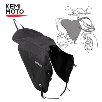 KEMiMOTO koc motocyklowy kolana cieplej noga pokrywa dla skuterów deszcz ochrona przed wiatrem wodoodporna kołdra zimowa dla Vespa GTS GTV tanie i dobre opinie leg cover For Motorcycle 90 cm 52 cm 75 cm 36 x 52 cm waterproof