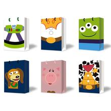 12PCS Toy Story Birthday Party Supplies Favor Gift Bags, for Kid Birthday Party