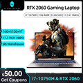 911Plus 17 3'' zoll i7 10750H RTX 2060 Gaming Laptop 16G RAM 512G 1TB SSD IPS 144Hz Büro Notebook Windows 10 Gamer Laptops