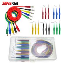 20pcs/set 2019 New 30V /1A SG Test Tool Aid 23500 Back Probe Kit Identified Probe for Autom
