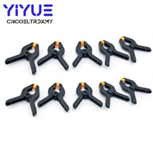 10PC 2inch DIY Tools Plastic Nylon Toggle Clamps For Woodworking Spring Clip  for Photo Studio Background Clamp Heavy 80pcs 2inch spring clamp woodworking clamps