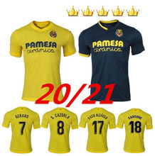 2020 villarreal cf s. cazorla futebol jerseys 20/21 casa geraro chukwueze fora camisa de futebol paco alcácer moi gomez 3rd un