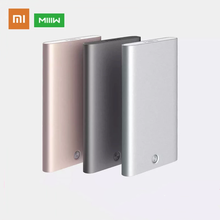 Original Xiaomi MIIIW Card Case Portable Automatic Pop Up Box Cover Card Holder Metal Wallet for ID Bank Card Credit Card