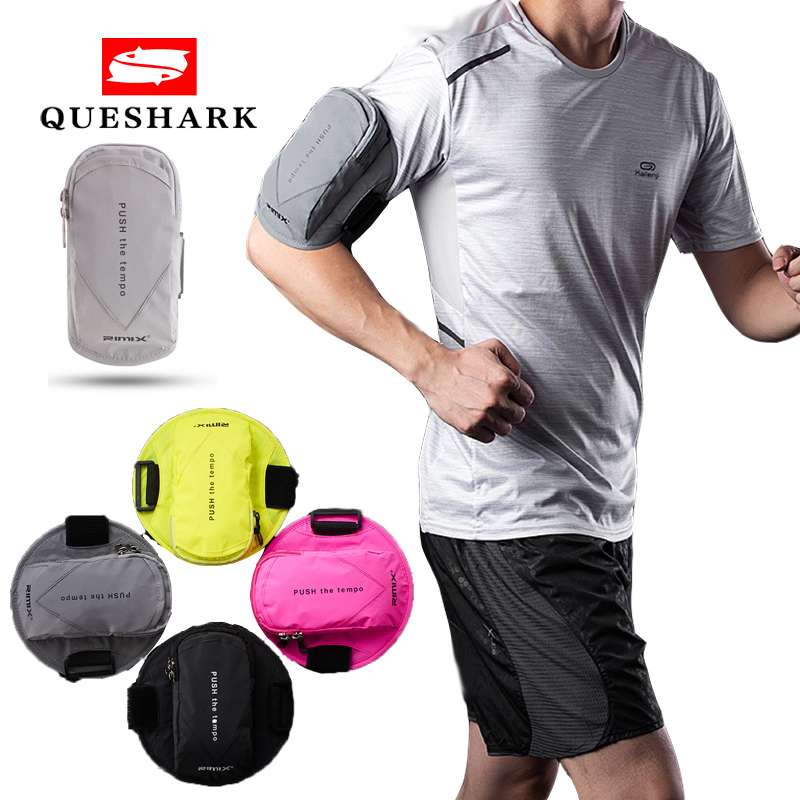 Reflective Phone Armband Sleeve Running Sports Arm Band Strap Holder Bag