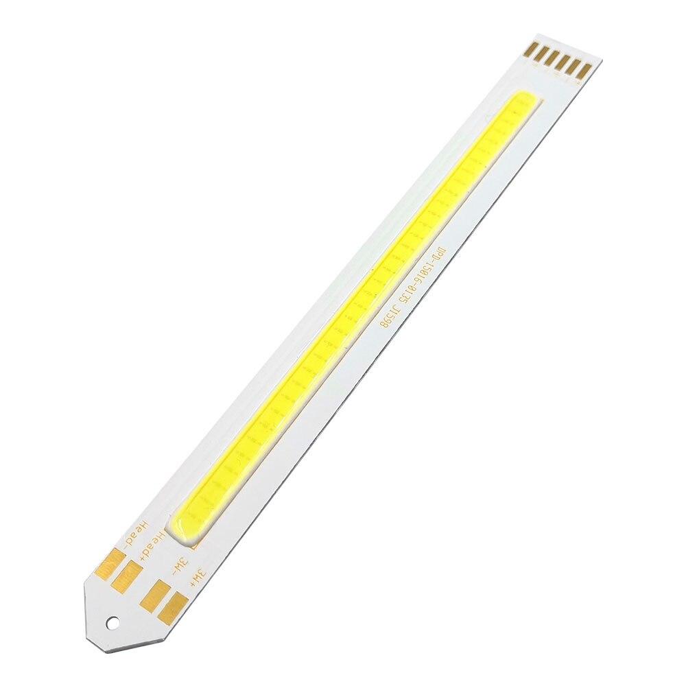 3.7V COB Strip LED Lamp 5w Cold White Color 3V 5V LED Bulb For Worklamp Indoor Lighting DIY COB Chip On Borad Battery Powered