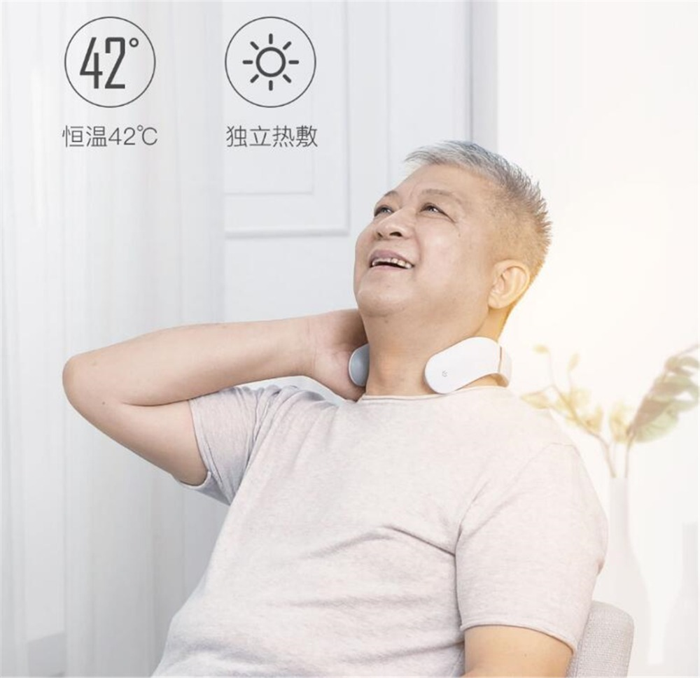 Xiaomi Jeeback Cervical Massager G2 TENS Pulse Back Neck Massager Far Infrared Heating Health Care Relax Work With Mijia App (16)