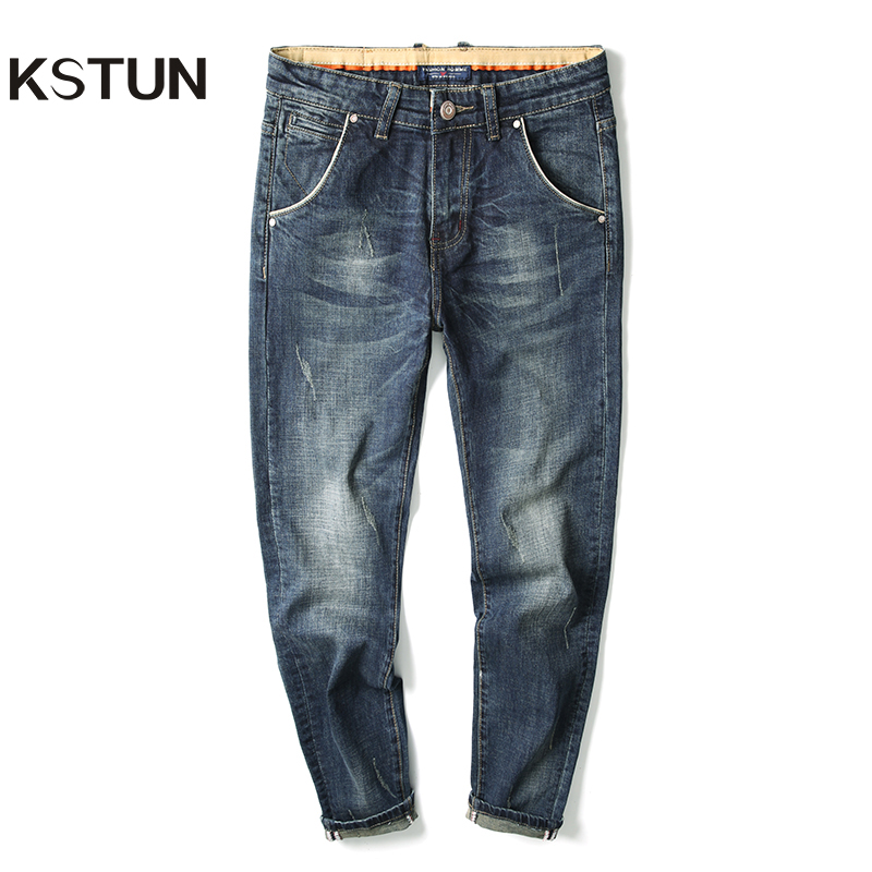 Men Jeans Famous Brand High Quality Autumn And Winter Stretch Blue Jeans Man Slim Straight Denim Pants Jeans Man Big Size 40