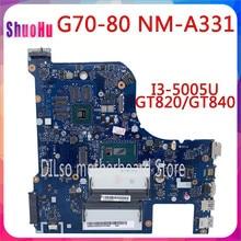 KEFU G70-80 для Lenovo G70-70 B70-80 Z70-80 материнская плата AILG DDR3 HM76 Intel Z50-70 интегрированный 90 дней