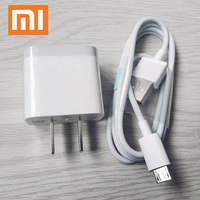 XIAOMI-Adaptador de enchufe de pared para móvil, Cable Micro USB tipo C para Mi 9 9T a1 a2 5s 6 Max 2 Redmi Note 8 7 K20 Pro 4 7A