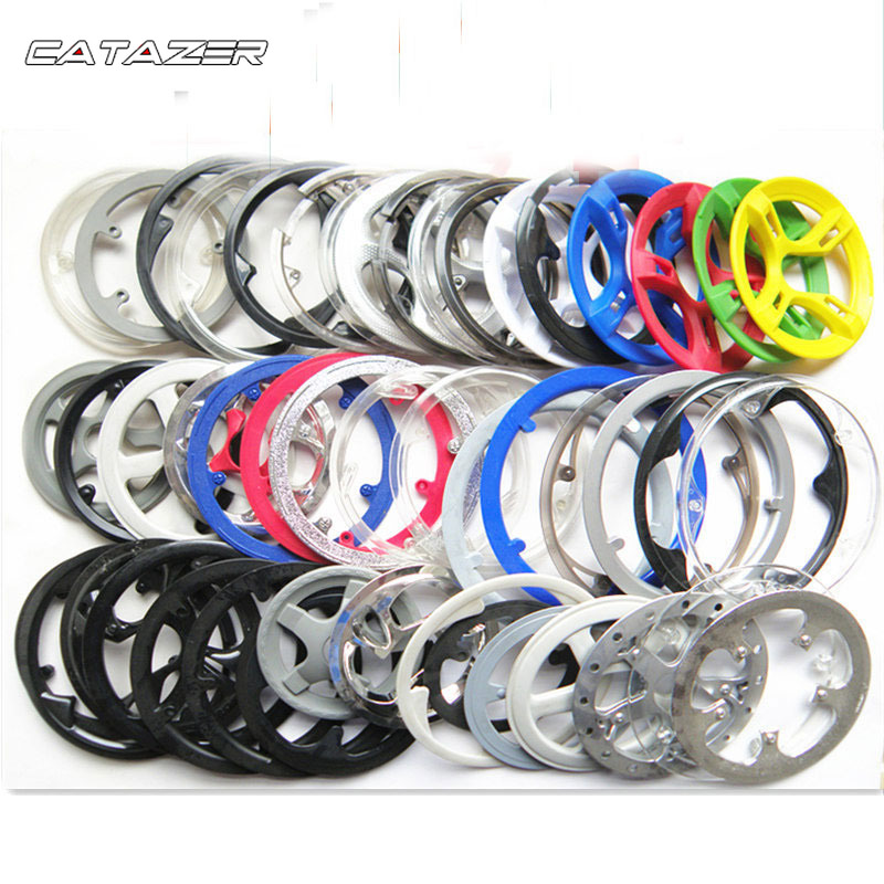 42T Crank Guard Protector Sprocket Bike Chain Wheel Ring Cover Accessory Durable