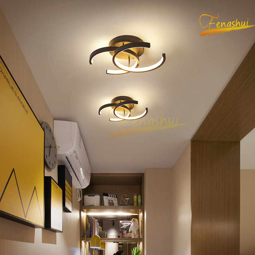 Nordic Led Ceiling Lamp Chandelier Lighting Fixtures Modern Ring Aisle Living Room Lamp Interior Decorative Lamp Ceiling Lights Aliexpress