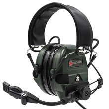 TAC-SKY TCI LIBERATOR 1 Silicone earmuff  Noise reduction pickup headset -FG