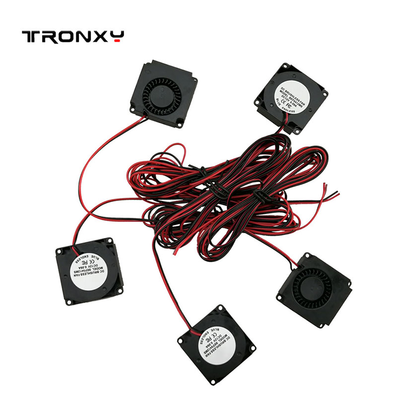 TRONXY Cooling Fan DC 12V 4010 Hotend Extruder For 3D Printer Parts Blower Radial Cooling Fan 3d Tool 3d Repuestos Free Shipping