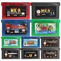 32 Bit Video Game Cartridge Console Card Harvest Moon/Metal Slug Series US/EU Version For Nintendo GBA