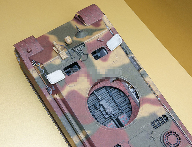 1:25 Scale WW2 Germany Panzerkampfwagen V Panther Sd.Kfz. 171 Tank Paper Model Handmade Toy Puzzles 6