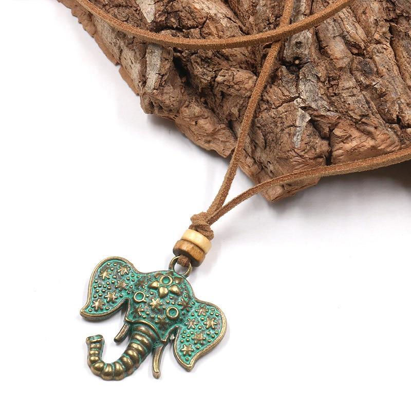 Collier tête d'éléphant pas cher | oko oko