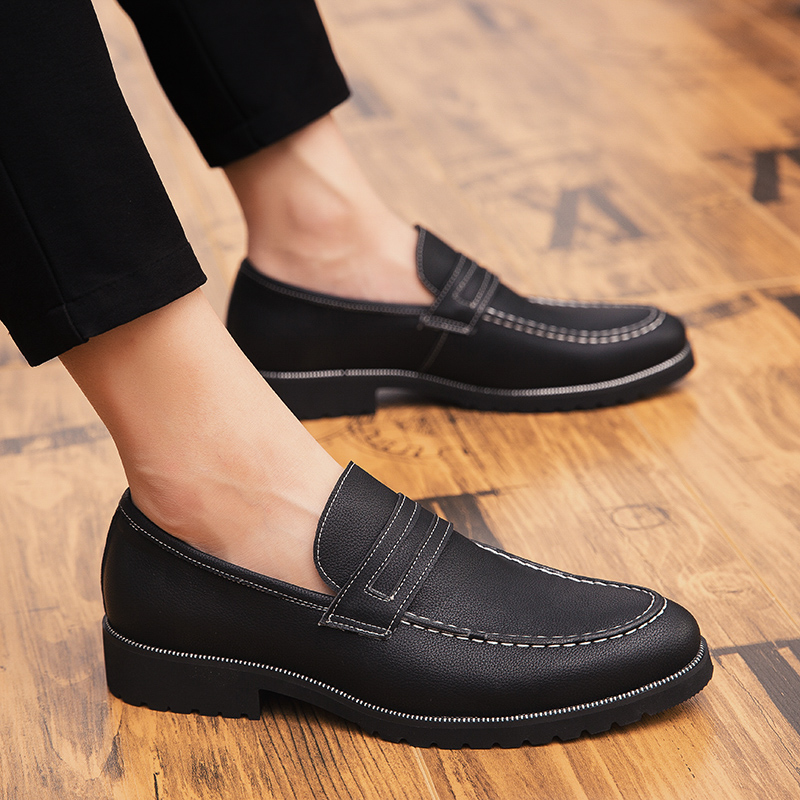Brand Men Oxford Formal Business Shoes Male Office Work Flat Shoes Oxford Breathable Party Wedding Anniversary Shoes Dress