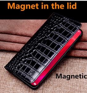 Image 4 - جلد طبيعي الرجعية Vintage غطاء حقيبة الهاتف المغناطيسي ل OnePlus 7T برو/OnePlus 7 T/OnePlus 7 برو/OnePlus 7 الحافظة غطاء Funda
