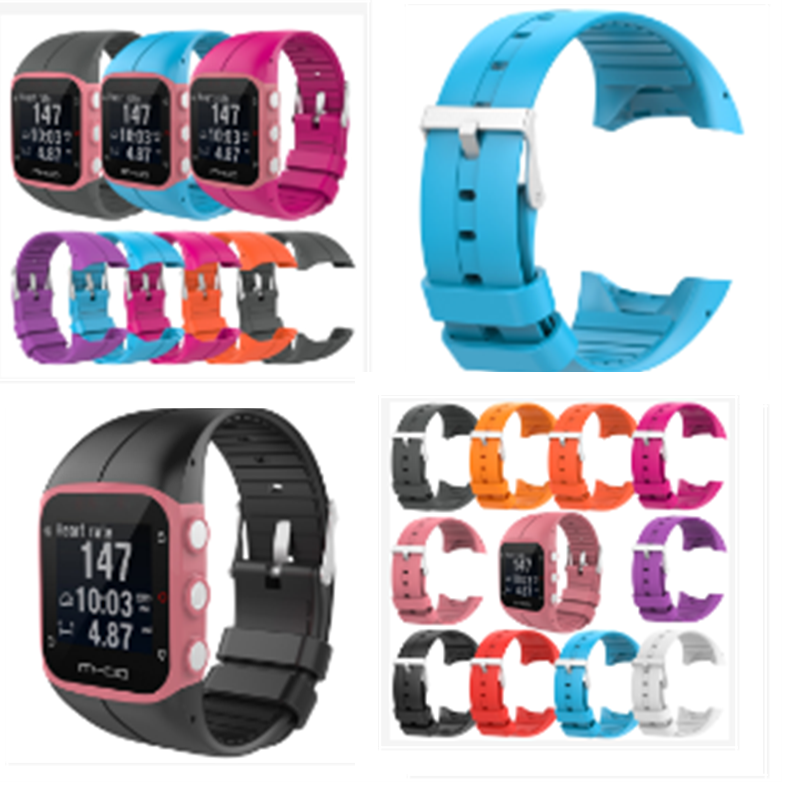 BIG Model Multiple Choices Replacement Wristba For POLAR M430/M400 Official With The Same Paragraph Breathable Silicone Strap