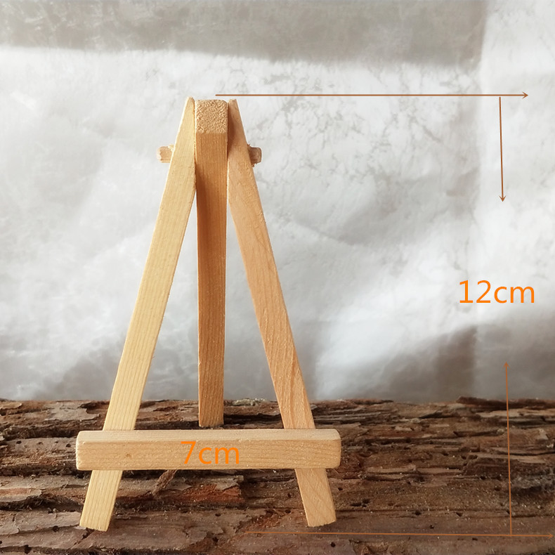 Import Solid Wood Exquisite Multi-functional Mini Easel Customizable 7*12 Cm