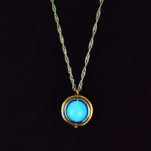 Luminous Fashion Pendant Necklace Glow In The Dark Popular Planet for Women Charm Halloween Jewelry Gift