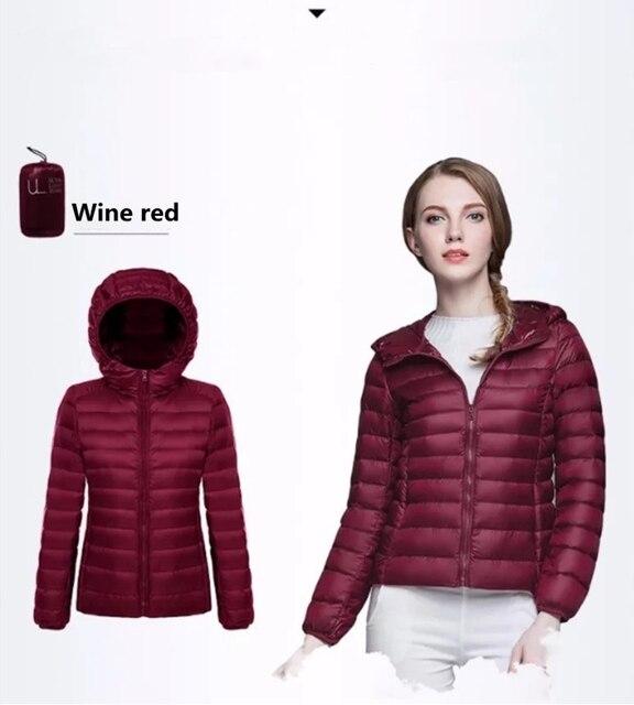 2019 Bella philosophie hiver doudoune femmes 90% duvet de canard manteau Ultra léger chaud femme Portable grande taille doudoune hiver