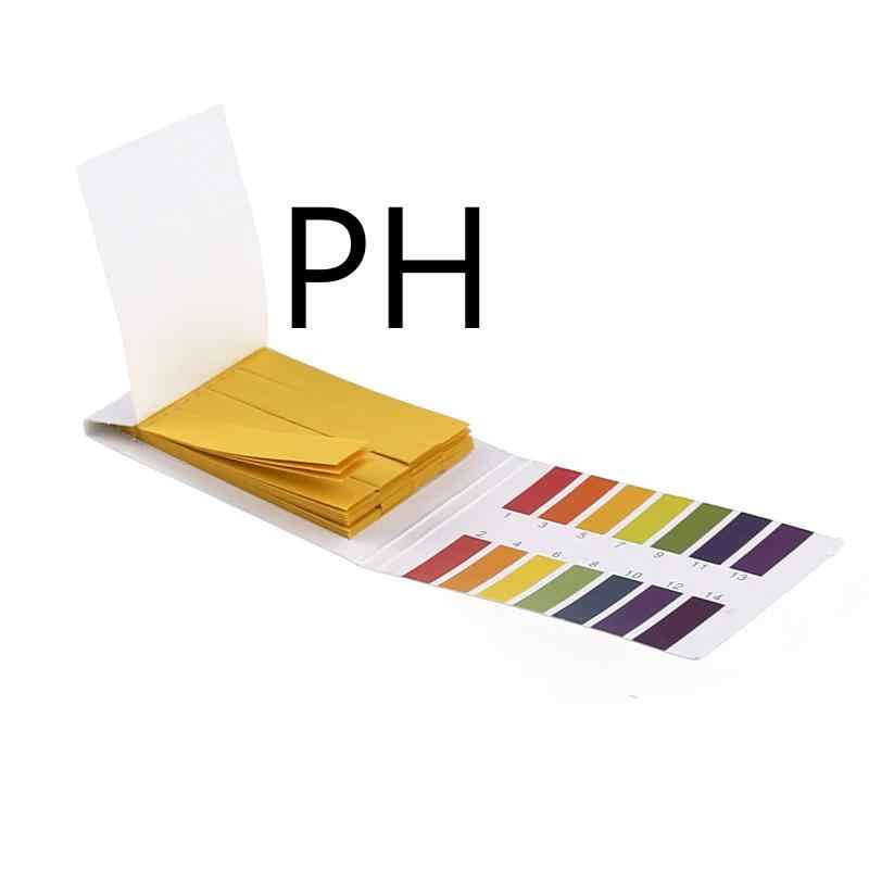 80 полоски PH Тесты полоски PH измеритель PH контроллер 1-14st индикатор лакмусовой Тесты er Бумага Soilsting комплект вытирания слюней младенцев Тесты инструментов полоски