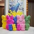 15 см 38 см 60 Пасхальный кролик, плюшевые игрушки в виде милого кролика моделирование чучело кукла детская мягкая подушка подарки для мальчик...