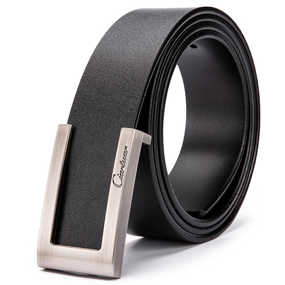 Ciartuar Fashion New Belt Leather Belts for Men Cowskin Genuine leather High Quality Man Strap Designer Luxury Waist Belt Jeans