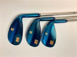 Image 1 - BIRDIEMaKe גולף מועדוני MTG ITOBORI טריזי ITOBORI גולף טריזי כחול 50/52/54/56/58/60 מעלות R/S להגמיש פיר עם ראש כיסוי