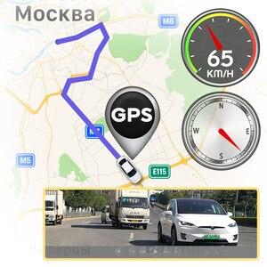 Image 3 - JADO D330 araba dvrı kamera dashcam WIFI hızlı N GPS koordinat 1080P HD gece görüşlü araç kamerası 24H park monitörü