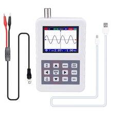 Handheld digital dso pro osciloscópio mini tamanho osciloscópio 5m largura de banda 20 ms/s taxa de amostragem com p6100 osciloscópio sonda