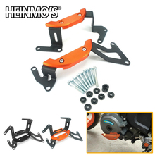 Motorcycle For KTM DUKE 390 250 Engine Cover Accessories Falling Protection Frame Slider DUKE390 2017 2018 2019