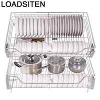Accesorios organizadores Para vajilla Armario, escurridor de platos, gabinero de acero inoxidable, organizador de cocina, cesta Para Armario de cocina