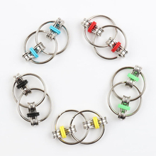 Fidget-Toy Top-Puzzles Hand-Spinner Sensory-Toys Autism ADHD Chain Key-Ring Stress-Relieve